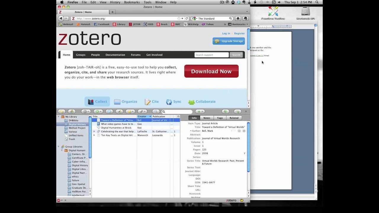Add On Zotero Chrome
