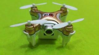 [Mở Hộp - Bay Thử] Quadcopter CX10 WD cam Wifi FPV siêu nhỏ