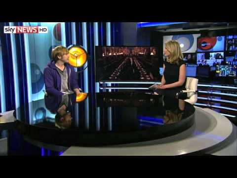 Rupert Grint Interview on Entertainment Week/Sky News