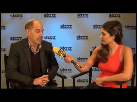 David S Goyer from Starz's Da Vinci's Demons Interview with AfterBuzz TV's Cathy Kelley