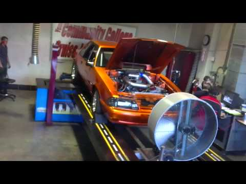 American Petrol Heads: 900hp Foxbory Mustang on the Dyno! Round Two.