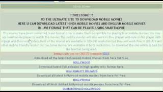 MOBILE MOVIES DOWNLOAD FREE