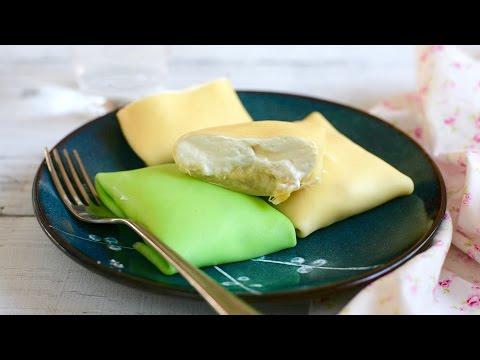 Cách làm BÁNH CREPE SẦU RIÊNG - VIETNAMESE DURIAN CREPE CAKE recipe