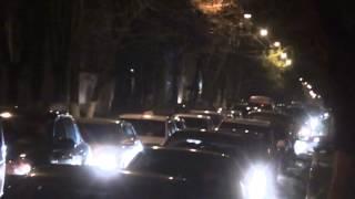 Ambuteiaj pe str. Kogălniceanu din cauza protestelor