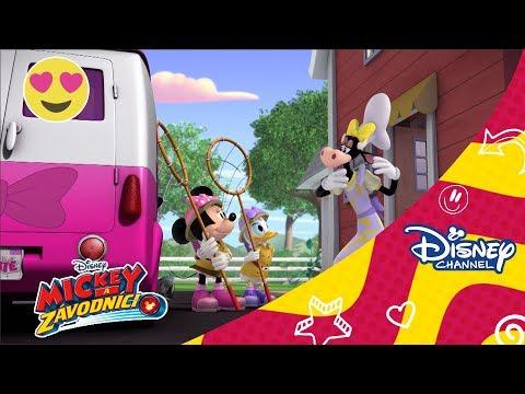 Mickey a závodníci - Pomocníčky hľadajú gorilu