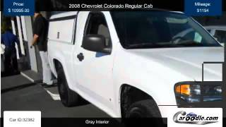 Used 2008 Chevrolet Colorado Regular Cab for sale in Orange CA videos