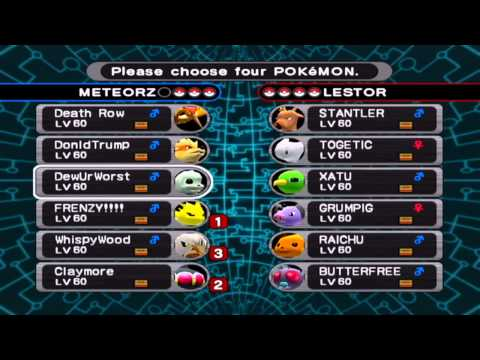 Pokemon XD: Gale of Darkness *Orre Colosseum Set 1*