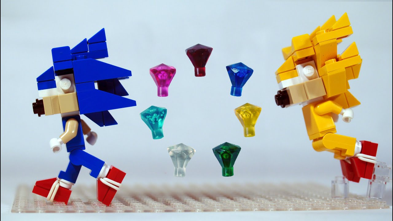 Build LEGO Sonic the Hedgehog Chaos Emeralds Super