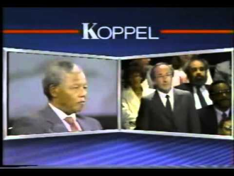 1990 Town Hall Meeting With Nelson Mandela (New York, USA)