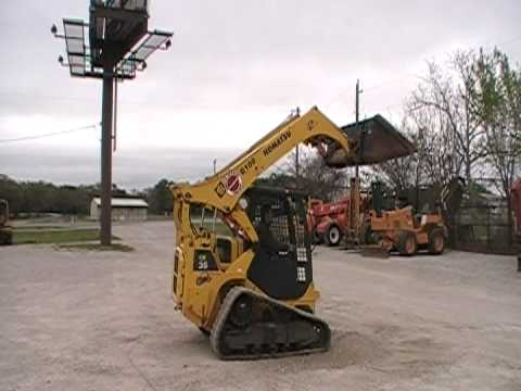 komatsu ck35-1 multi-terrain loader for sale