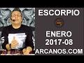 Video Horóscopo Semanal ESCORPIO  del 19 al 25 Febrero 2017 (Semana 2017-08) (Lectura del Tarot)