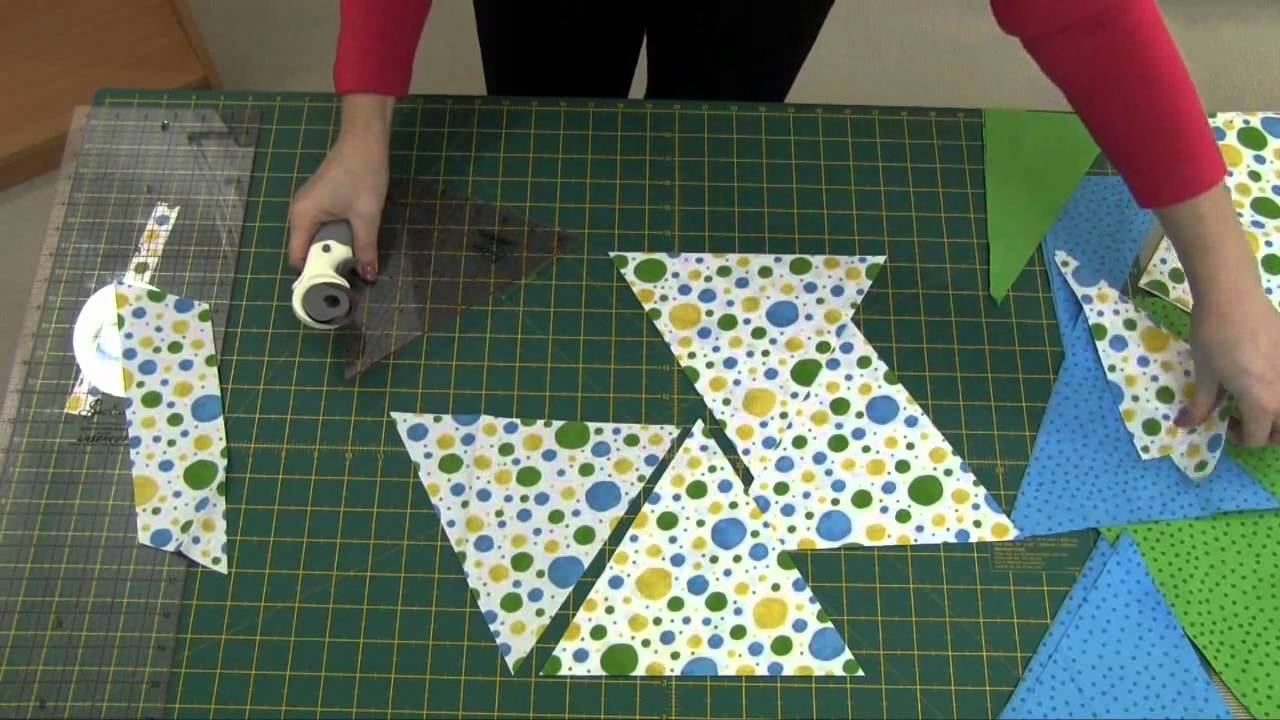 How to Cut Triangles for Quilts