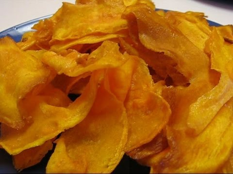 Betty's Crispy Sweet Potato Chips - YouTube