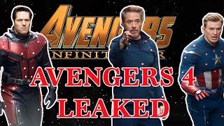 LEAKED Avengers 4 PLOT DISCOVERY