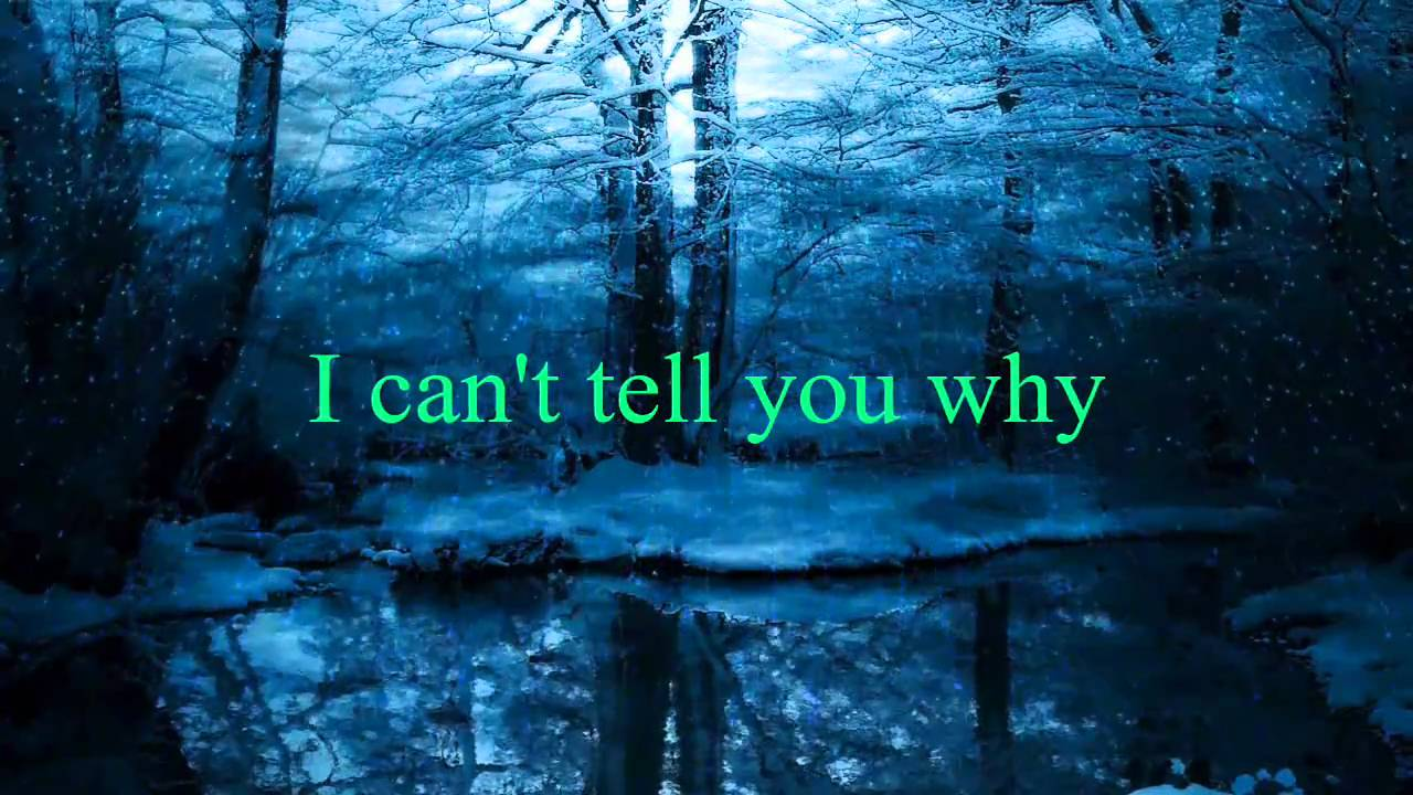 Eagles - I Can't Tell You Why [w/ lyrics] - YouTube