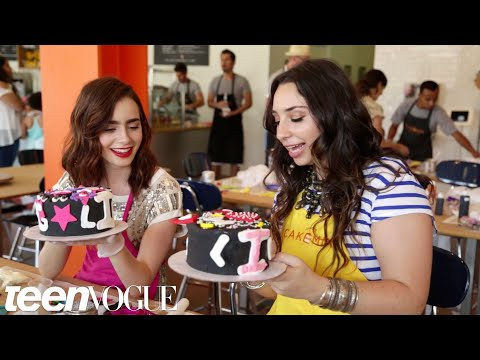 Lily Collins and Liana Weston -- Besties -- Teen Vogue