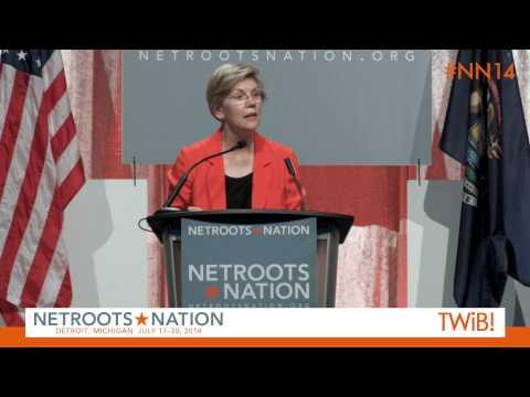 Sen. Elizabeth Warren at @Netroots_Nation | #NN14