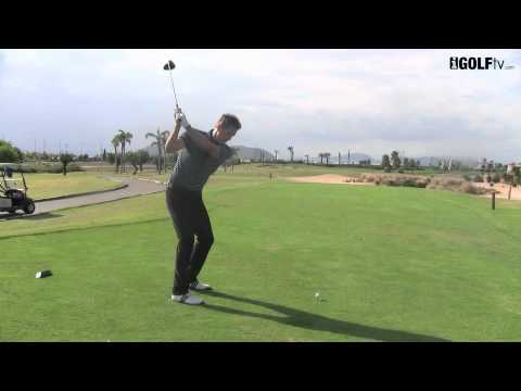 how to drive a golf ball straight youtube