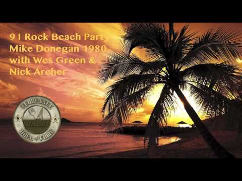 Mike Donegan 1960 Radio Memories on the WRVU 91 Rock Beach Party 1980