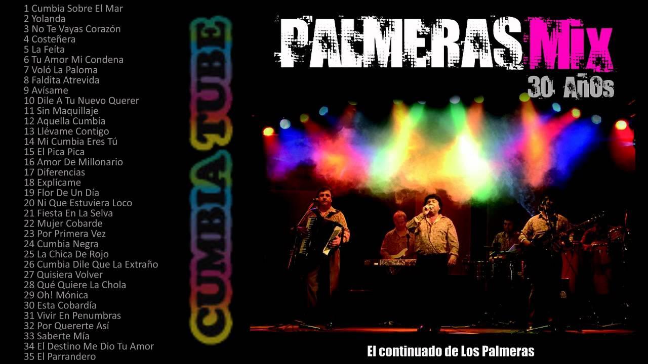 Los Palmeras - Mix Enganchados - 35 temas continuados