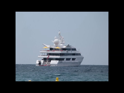 Superyacht Indian Empress owned by Vijay Mallya