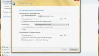 Einrichten Eines E-Mail-Kontos In Windows Live Mail