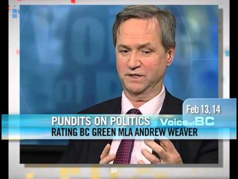 George Abbott - Rating BC Green MLA Andrew Weaver