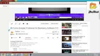 DUDAS Y ERRORES Como Arreglar Problema De Blackberry