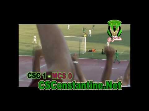 CSConstantine - MCSaida : Le but de Belghoumari