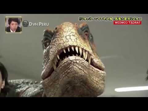 T Rex Dinosaur -Funny Japanese Prank