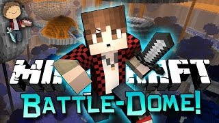 Minecraft: BATTLE-DOME w/Mitch & Friends Part 2 - CRAZY EPIC BATTLE!