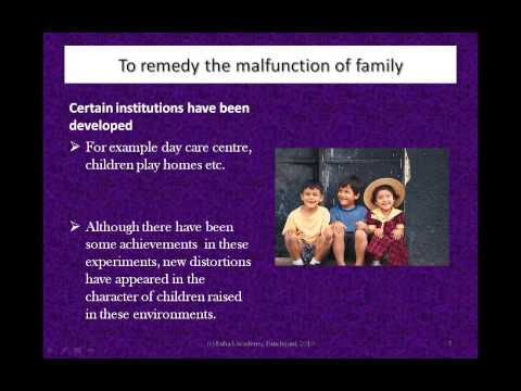 Moral Capabilities Spoken Tutorials Lesson 2 The Extended Family