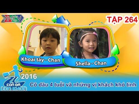 Cô dâu 4 tuổi và những vị khách khó tính | CON ĐÃ LỚN KHÔN | Tập 264 | 20/08/2016