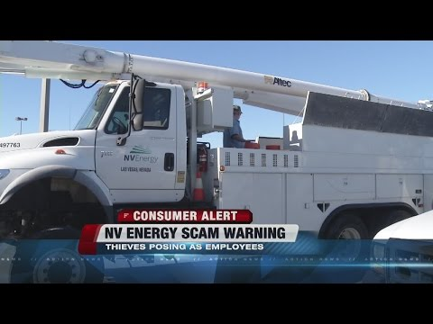 Contact 13: NV Energy scam warning