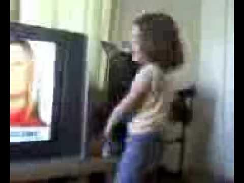 retard hitting tv