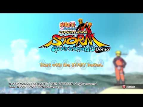 Naruto Shippuden Ultimate Ninja Storm Generations - Menu Theme [HD]