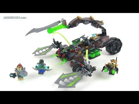 LEGO Chima Scorm's Scorpion Stinger 70132 set review!