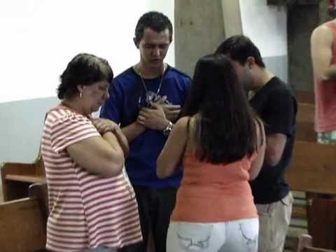 Momento de Oração na Escola Paulo Apóstolo