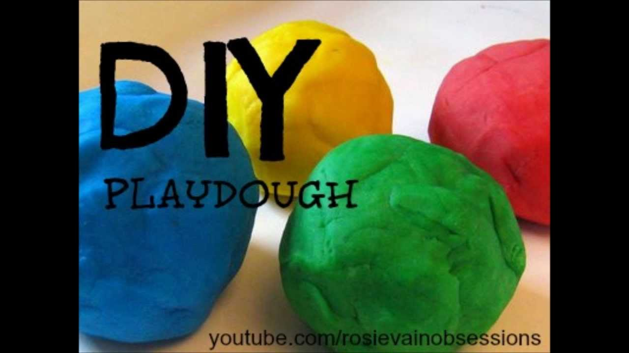 how to make playdough without cream of tartar youtube