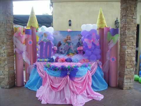 Decoracion Para Fiesta De Frozen