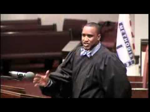 Rev Akil Dickens Preaching on GoGo