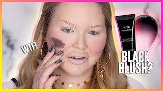 WORLD'S WORST BLUSH?? Testing BLACK CREAM BLUSH!