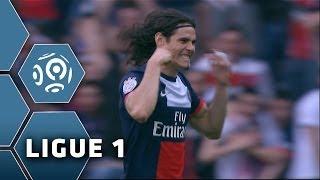Goal Edinson CAVANI (43') - Paris Saint-Germain-Stade de Reims (3-0) - 05/04/14 - (PSG-SdR)