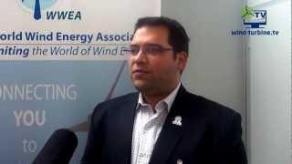 World Wind Energy Association WWEA - Industriemesse Hannover 2012 - YouTube