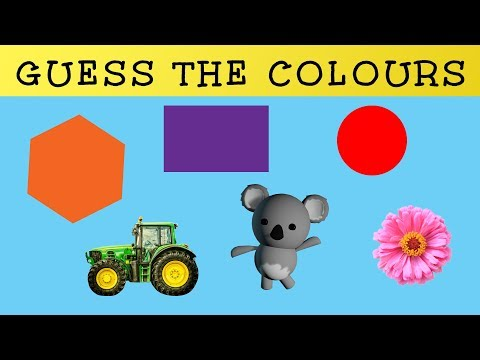 Colour Guessing Game | Learning Colours for Toddlers