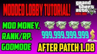 GTA 5 ONLINE: Xbox 360/PS3 MODDED LOBBY TUTORIAL! MOD