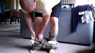 Blousing Military Pants