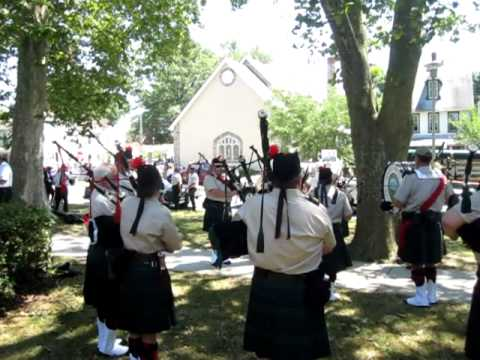 Pipes and Drums of Atlantic Watch--- havre de grace 4th of july parade 2010