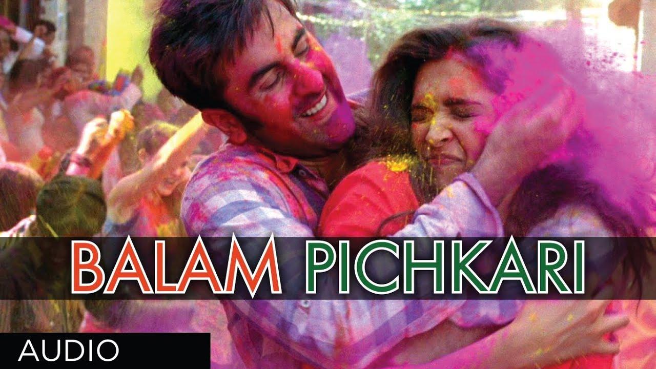 Balam Pichkari Full Song (Audio) Yeh Jawaani Hai Deewani ...