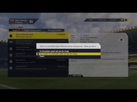 MAOR13500 Fifa 17 career